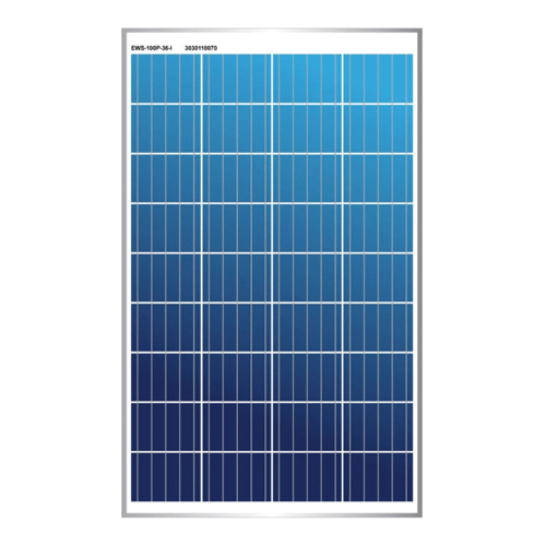 Enerwatt EWS-100P-36-I, 100W Solar Panel