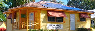 Solar House in Queen's Park, Barbados