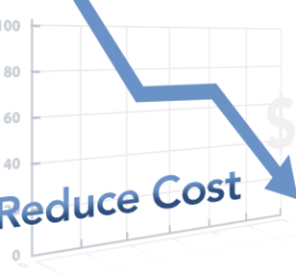 Reduce cost