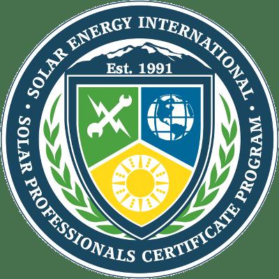 Sei Solar Professionals Certificate Program Solar Training