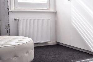 panel radiator install 5 - Hydronic Heating