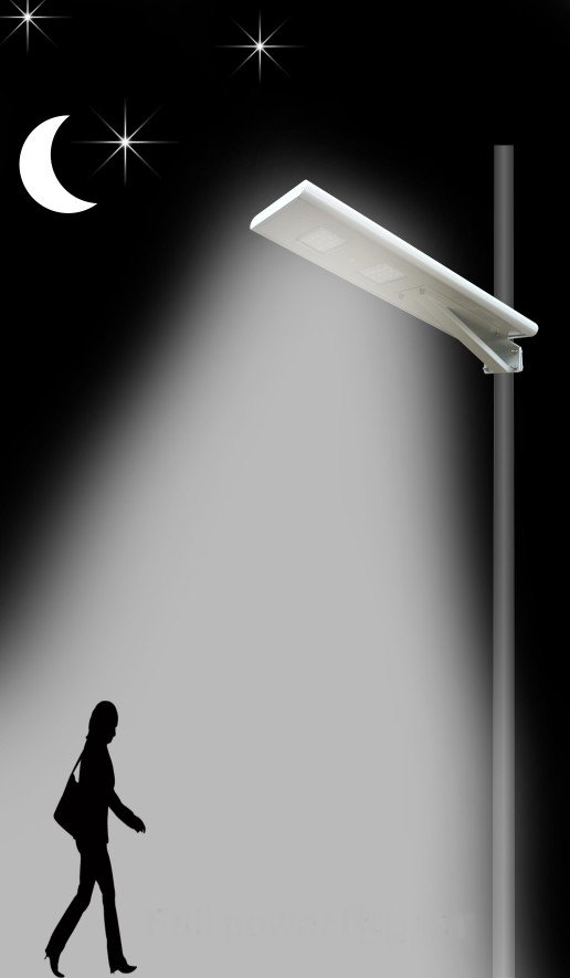 All in one Function 3 - All in one solar street light
