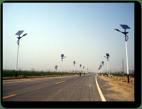application - Solar Garden Lights