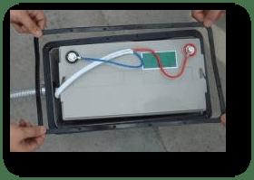 battery position underground - Solar Garden Lights