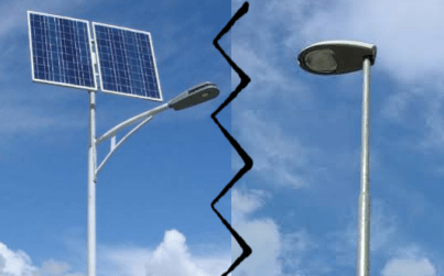 solar led light vs conventional light - Comparison between Solar LED light and Conventional light