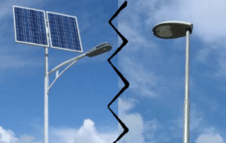solar led light vs conventional light - Solar Lights Blog