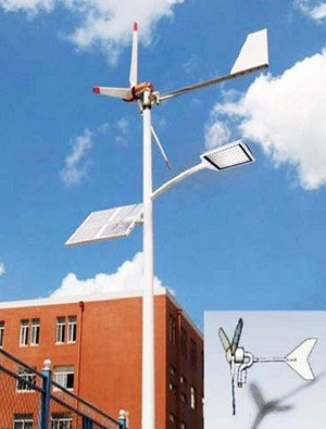 0002 - Solar wind street light