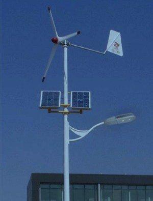 0006 Iluminación Solar y Energía Eólica para Exteriores