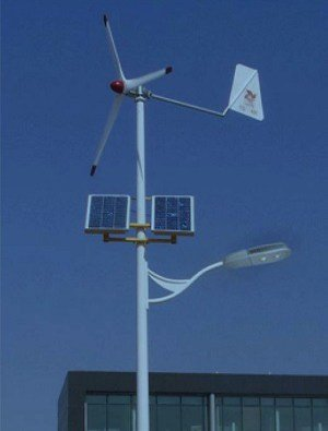 0006 Solar wind street light