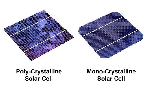 mono v poly crystalline cells - Monocrystalline and Polycrystalline