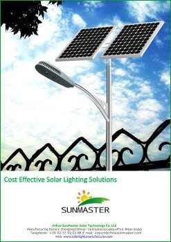 SolarStreet - Solar Lighting price list