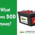 DOD Batteries2 - What does dod mean? DOD and solar batteries