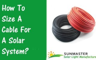 How-To-Size-A-Cable-For-A-Solar-System Solar Lights Blog