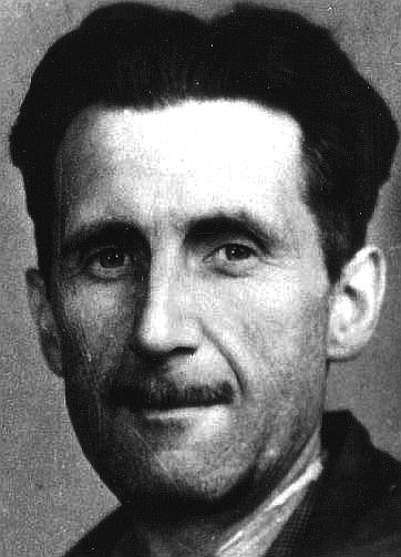 George Orwell photo portrait