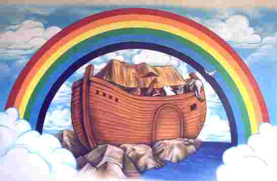 Noah's Ark and the sign of the covenant