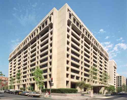 Headquarters building of the International Monetary Fund