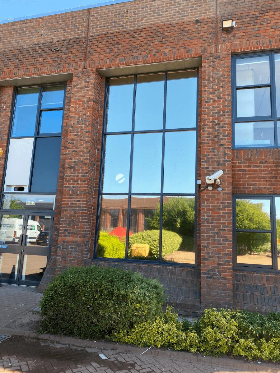 Window film for commercial properties