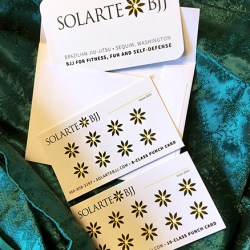 Solarte Brazilian Jiu-jitsu in Sequim Punch Cards
