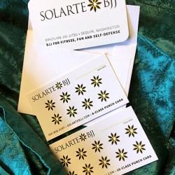 Solarte Brazilian Jiu-jitsu in Sequim Punch Cards