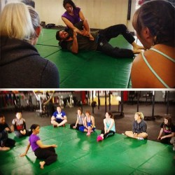 BJJ Demo at Upper Left CrossFit in Sequim, WA