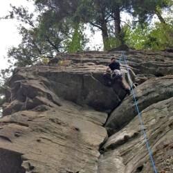 Solarte Sequim BJJ Elwha Climbing - Isaac