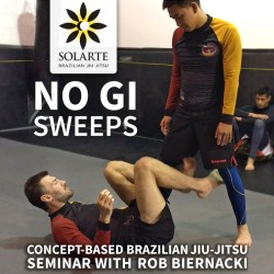 Rob Biernacki Sequim, WA BJJ Seminar No Gi Sweeps