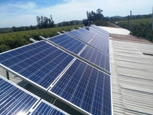 sistema solares para industria