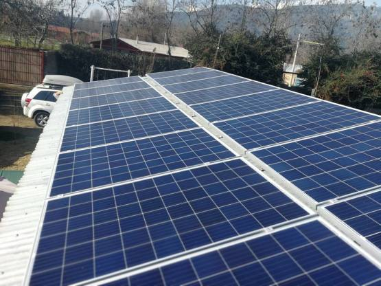 paneles solares on grid