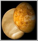 Venus with visible and radar illumination