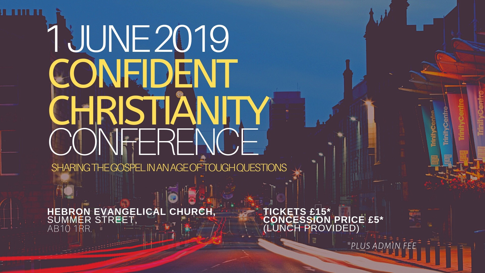 Confident Christianity Conferenc Aberdeen