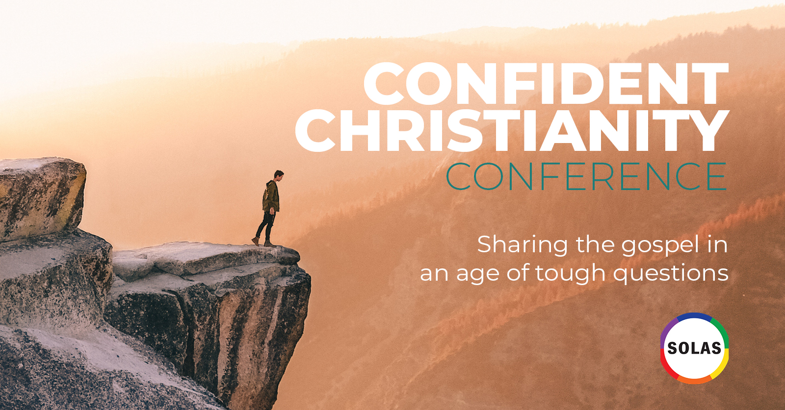 Confident Christianity conference banner