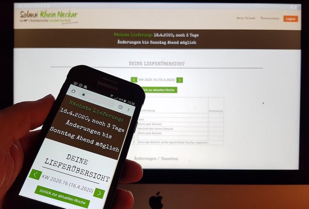 Online Bestellsystem