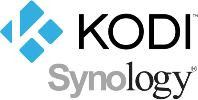 Logo's van Kodi en Synology