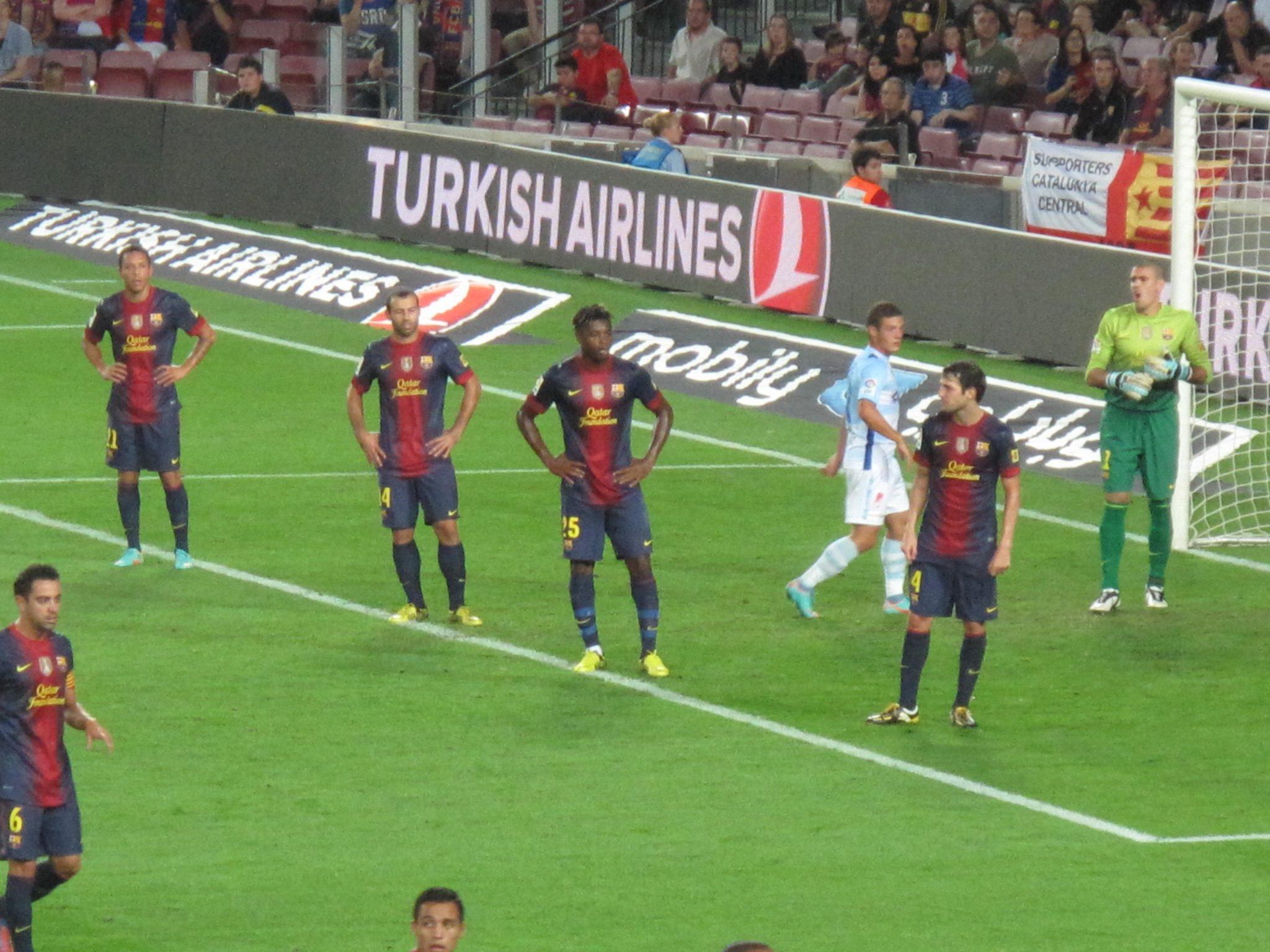 Corner Barça