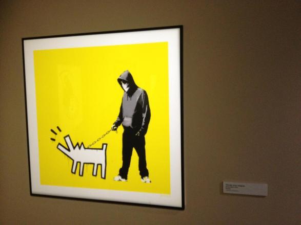 Oeuvre expo Street Art