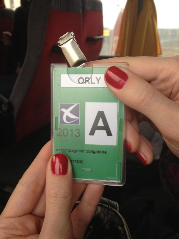 Badge Orly