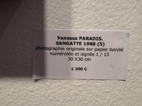 Photos Vanessa Paradis à vendre