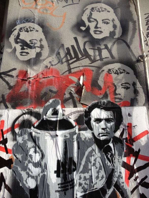 street art Paris 20ème