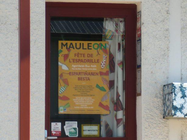 lafête de l'espadrille Mauléon
