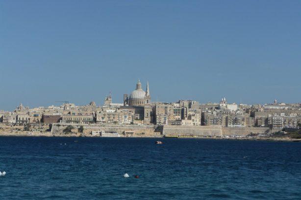 Vue sur Malte