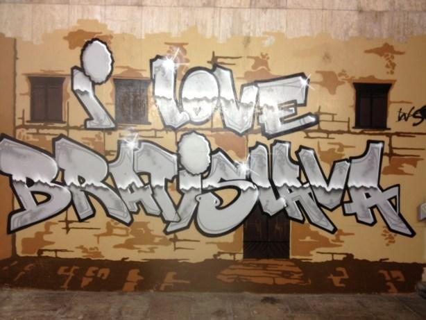 I Love Brastislava