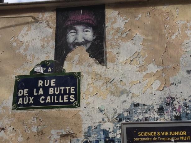 Butte aux cailles street art