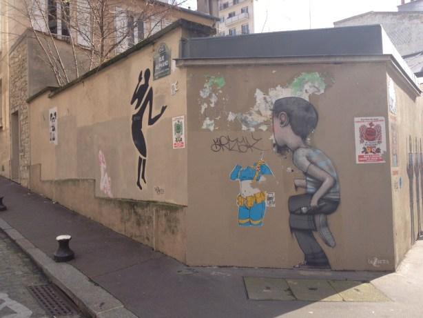 Art de la rue Butte aux cailles