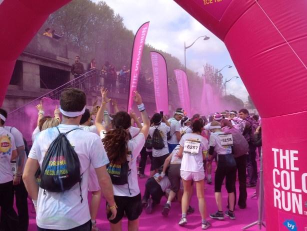 Run Color Rose