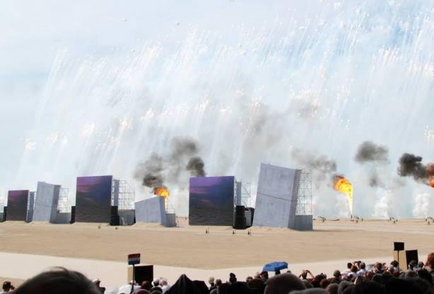 Spectacle commémorations Normandie
