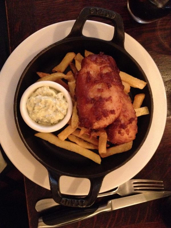 Fish and chips Bistrot Family