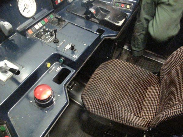 Cabine conducteur RATP