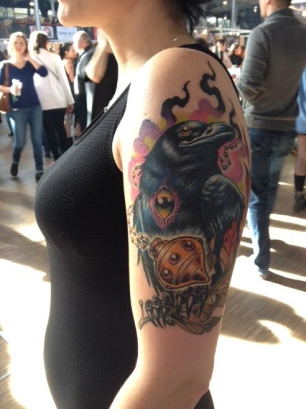 Tatouage tatouée