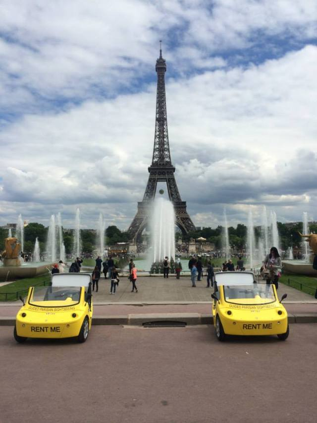 Canaricar Tour Eiffel