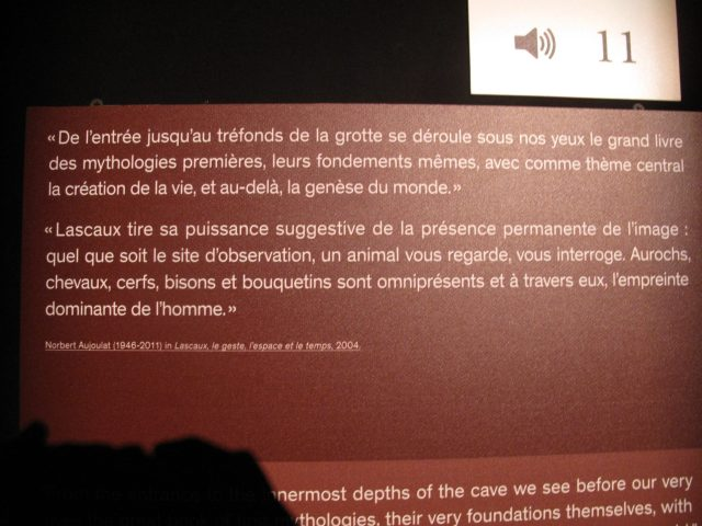 Lascaux esposition Paris